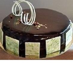 Cake triple chocolate